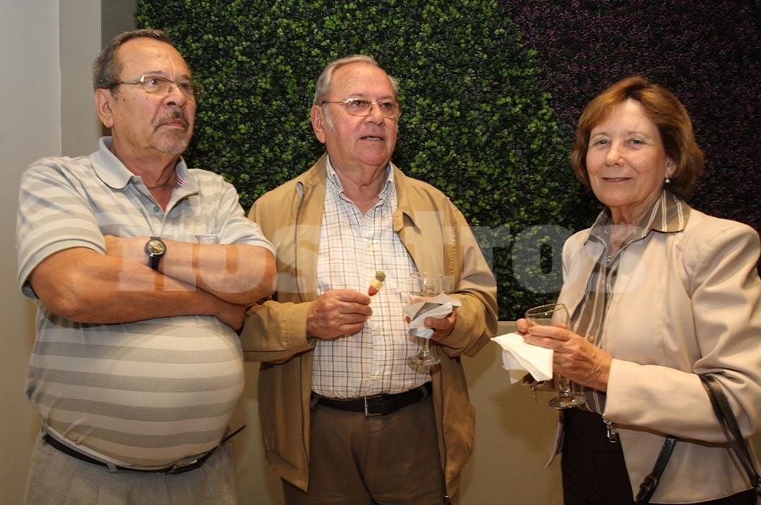 Anibal Vacca Cardoso, Eduardo Calafell y Sra.