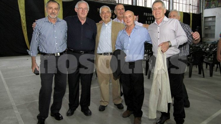 Señores Romero, Peña, Armando, Rosso, Ríspero, Galetto, Roman y Segovia