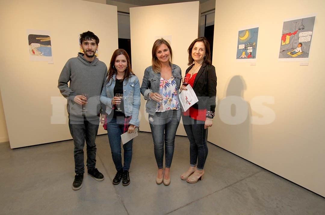 Matías Rodríguez, Josefina Pegassano, Florencia Monaterolo e Ileana Yozzía