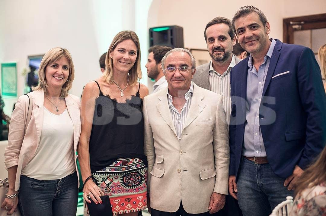 Andrea Valsagna, María Eugenia Demartini, Javier Vigo Leguizamón, Sergio Cicarelli y Marcelo Pascualón